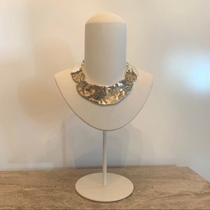 SEQUIN Chunky Silver Necklace